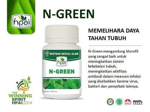 Grosir Obat Klorofil N-Green HPAI Asli Jakarta Bandung