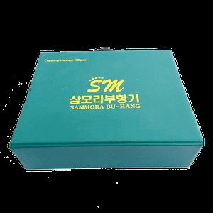 Jual alat bekam sammora korea 12 pcs biru di surabaya