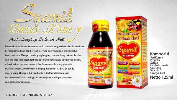 Jual madu syamil dates honey anak asli surabaya sidoarjo