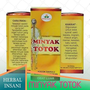 Grosir minyak totok herbal insani surabaya sidoarjo