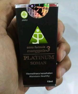 Grosir SOMAN 3 PLATINUM MURAH surabaya sidoarjo
