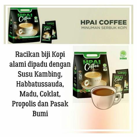 Distributor HPAI Coffee HNI Asli Original Surabaya Sidoarjo