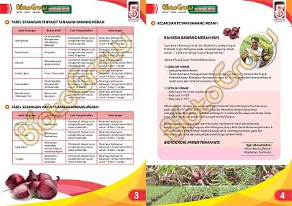 Agen Biotogrow Pupuk Organik murah Surabaya Sidoarjo panduan biotogrow bawang merah 2