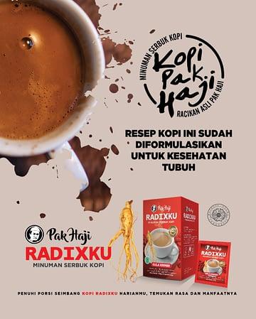 Agen Stokis Kopi Radixku Asli Surabaya Sidoarjo Mojokerto