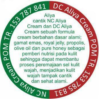 pusat grosir cream aliya day cream dan cream aliya night cream jakarta depok makassar paling murah 2