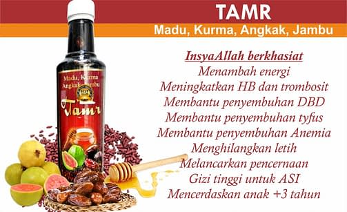 Agen Tamr Bin Djened Plus Angkak di surabaya sidoarjo