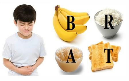 Cara Alami Mengobati Diare Pada Anak dengan diet BRAT