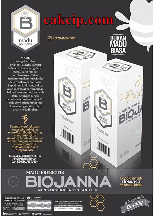 Jual Madu Prebiotik Biojanna Asli Original Surabaya Sidoarjo