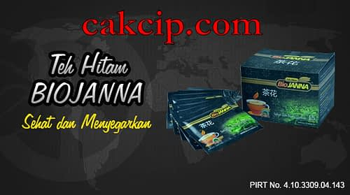 Jual Teh Hitam Biojanna Asli Original Surabaya Mojokerto Sidoarjo