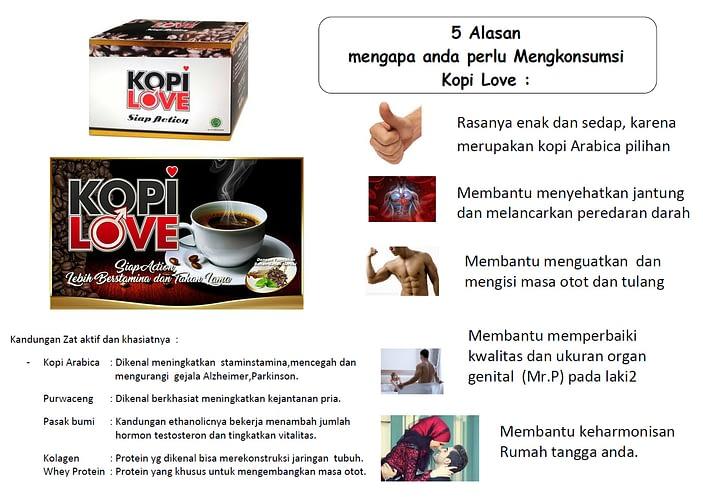 Jual Kopi Love Pria Sejati Murah Surabaya Cara Alami Mengatasi disfungsi ereksi pendekar sejati