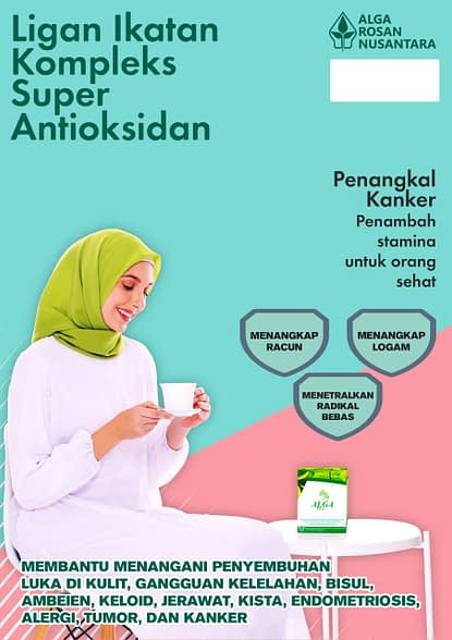 Agen Alga tea Hijau Obat Kanker Surabaya Sidoarjo