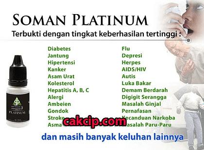 AGEN SOMAN 3 PLATINUM ASLI