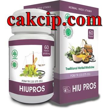 Distributor Kapsul herbal prostat hiupros