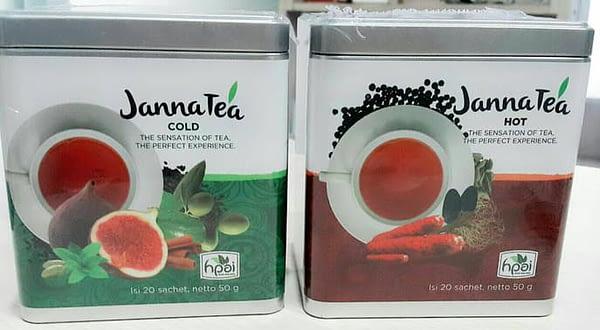Jual janna tea hot surabaya dan janna tea cold HPAI surabaya sidoarjo