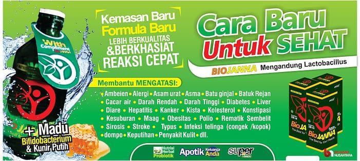 Agen Biojanna Super Asli Original Surabaya Sidoarjo Mojokerto Malang