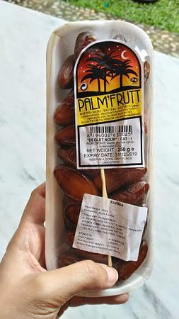 Grosir Kurma Palm Fruit 250 gr Jakarta Semarang