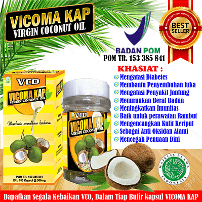 Agen Vicoma Kap Virgin Coconut Oil Murah Asli Surabaya Sidoarjo