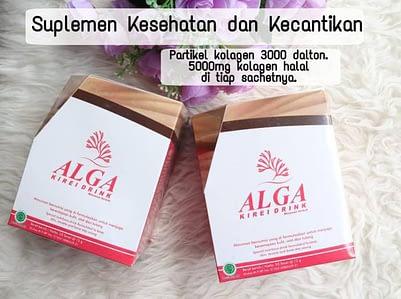 Agen alga Kirei kolagen drink Murah Surabaya Sidoarjo