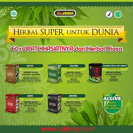 Agen Biojanna Super Asli Original Surabaya Sidoarjo Mojokerto Herbal Super