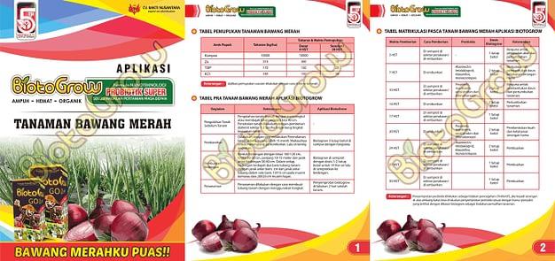 Agen Biotogrow Pupuk Organik murah Surabaya Sidoarjo panduan biotogrow bawang merah