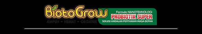 Jual Biotogrow Pupuk Organik murah Surabaya Sidoarjo logo-biotoGROW